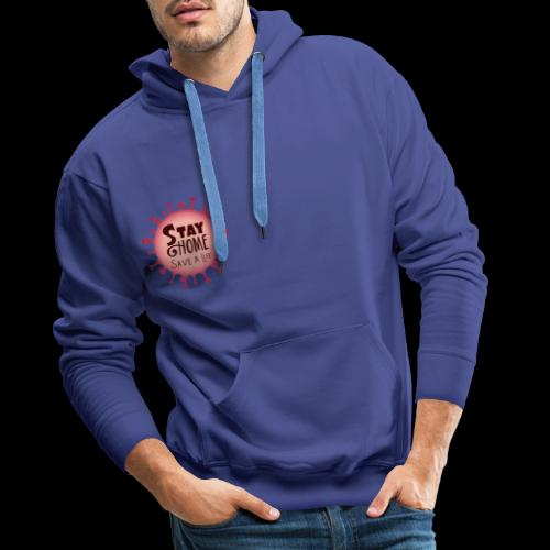 stay at home 5 - Men's Premium Hoodie