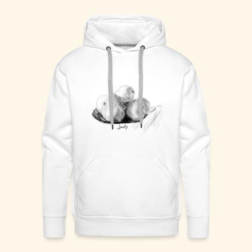 Peras - Sudadera con capucha premium para hombre
