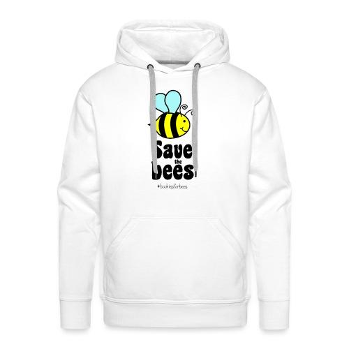 Bees9-1 save the bees   Bienen Blumen Schützen - Männer Premium Hoodie