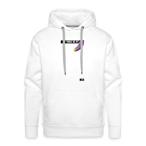 zuig_me_pie - Mannen Premium hoodie