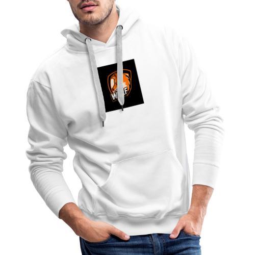 Serecchia Wolf - Felpa con cappuccio premium da uomo