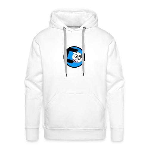 CoveredCow Logo 3 - Men's Premium Hoodie