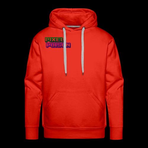 Pixel Poison Logo - Men's Premium Hoodie
