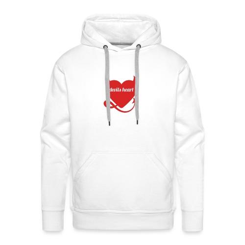 Devils heart - Mannen Premium hoodie