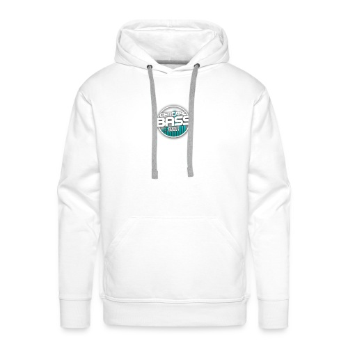 Plain T-Shirt with Logo - Men's Premium Hoodie
