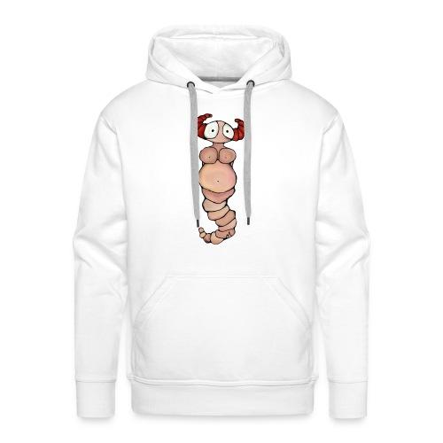 wormvrouw voor sticker huidskleur A png png - Mannen Premium hoodie