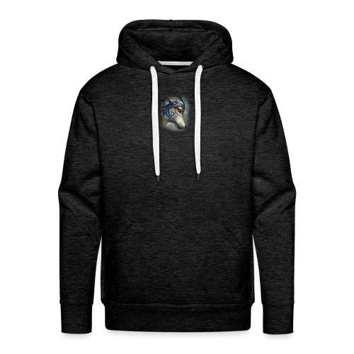 magnifique loups - Sweat-shirt à capuche Premium pour hommes