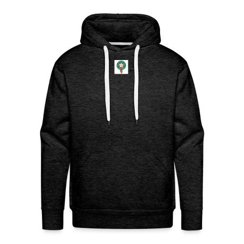 images foot - Sweat-shirt à capuche Premium pour hommes