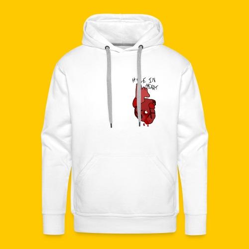 Hole.. Heart. - Men's Premium Hoodie