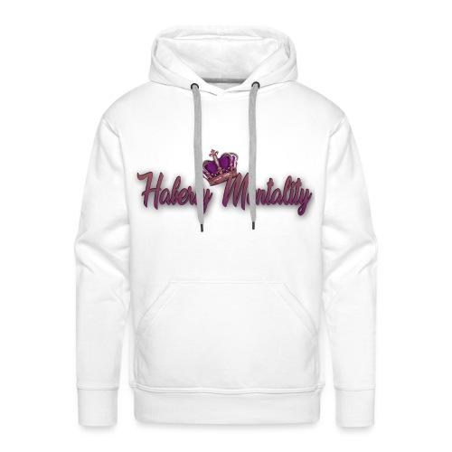 Haberty Mentality - Sweat-shirt à capuche Premium pour hommes