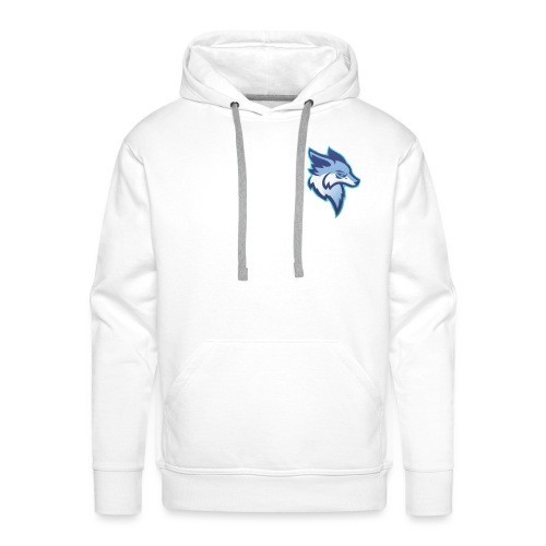 ClutcherZz logo - Sweat-shirt à capuche Premium pour hommes