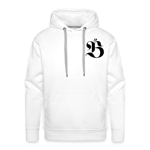 B logo - Premiumluvtröja herr