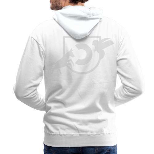 Crest front & back - Sweat-shirt à capuche Premium pour hommes