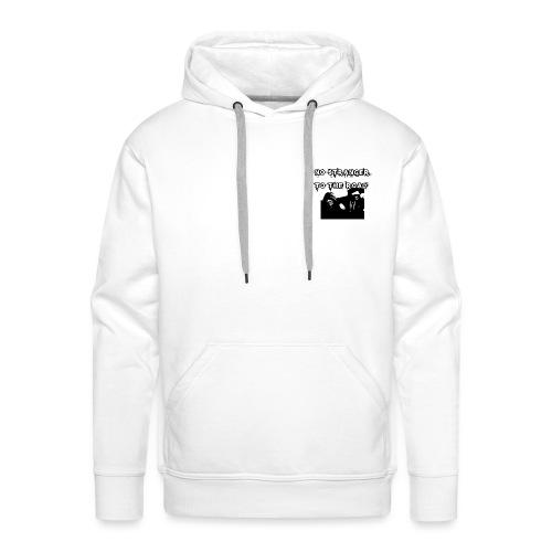 no stranger hooded - Men's Premium Hoodie