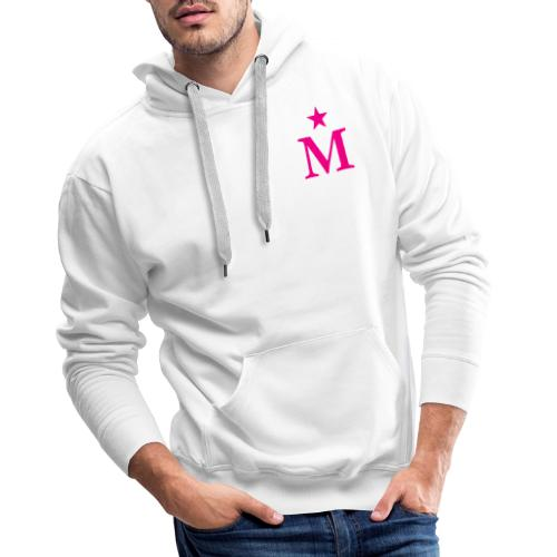 M de Moderdonia rosa - Sudadera con capucha premium para hombre