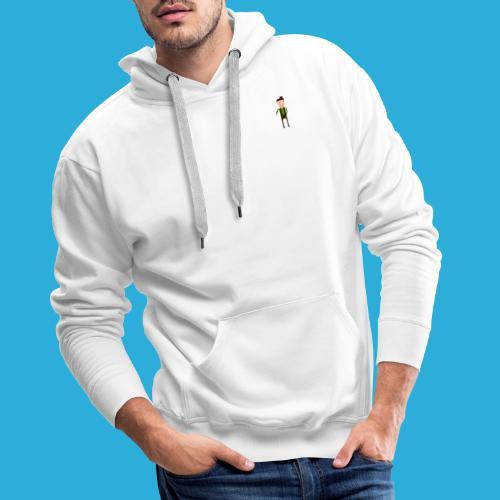 Adventurer -small - Mannen Premium hoodie