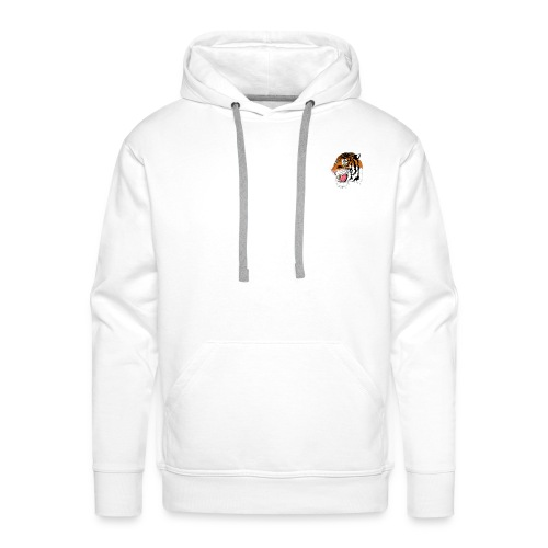 tiger for mearch png - Men's Premium Hoodie