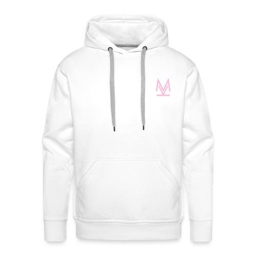 logo Key M - Felpa con cappuccio premium da uomo