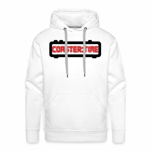 Coaster Time Schwarz - ParkTube - Männer Premium Hoodie