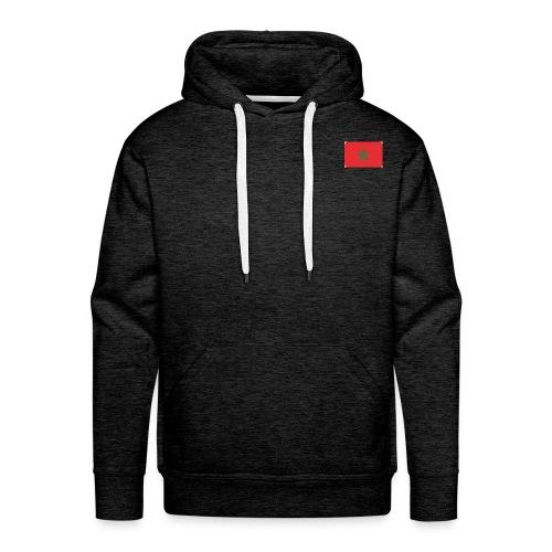 maroc - Sweat-shirt à capuche Premium pour hommes