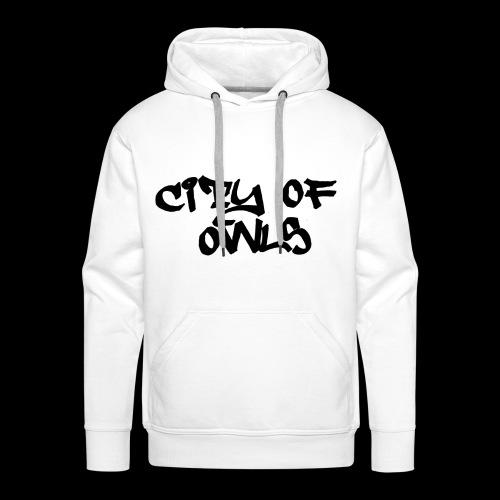 City of owls - Männer Premium Hoodie