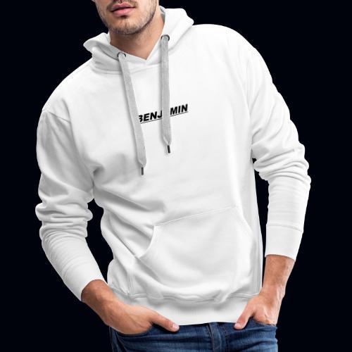 BENJAMIN tee's Available whenever - Men's Premium Hoodie