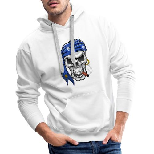 born skull new freigestellt - Männer Premium Hoodie