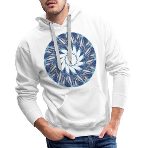 Chakra Mandala Mantra OM Chaos Star Circle 12235ic - Men's Premium Hoodie