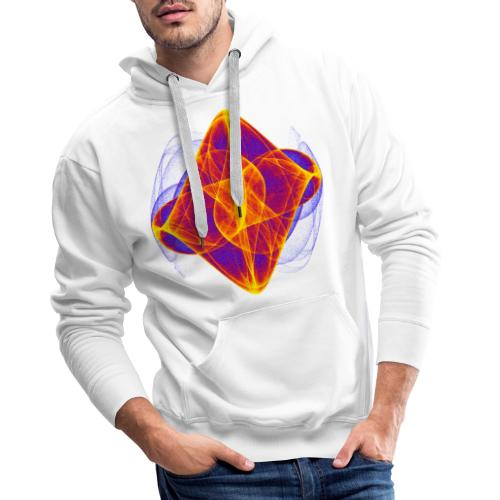 Watercolor art graphic painting picture chaos 6769bry - Men's Premium Hoodie