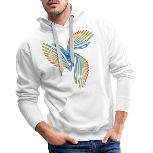 Vogel Bird of Paradise Cockatoo Icarus Chaos 2944j - Men's Premium Hoodie