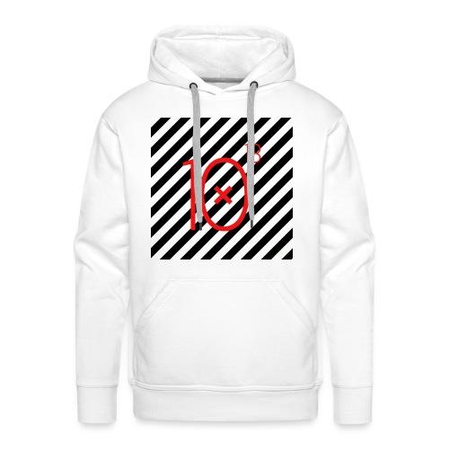 Stripes Hoodie - Bluza męska Premium z kapturem