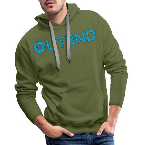 OUTBND - 90s limited logo - Felpa con cappuccio premium da uomo