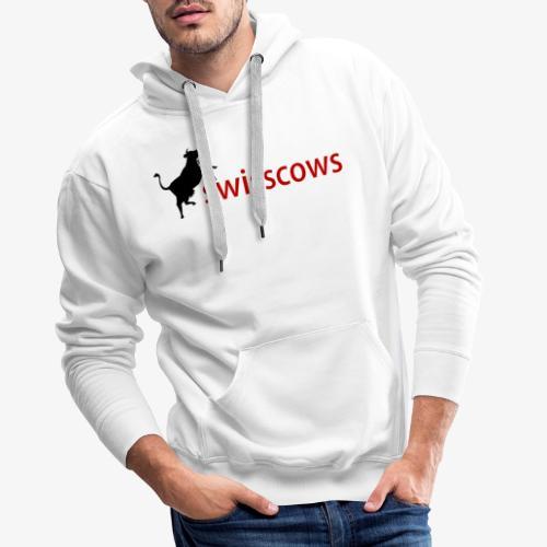 Swisscows - Männer Premium Hoodie