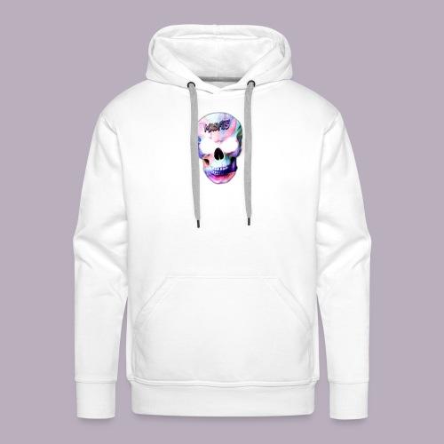 mxsfits skull logo - Men's Premium Hoodie