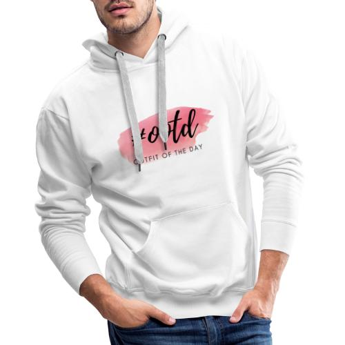 Hashtag ootd Outfit of the Day Instagram - Männer Premium Hoodie