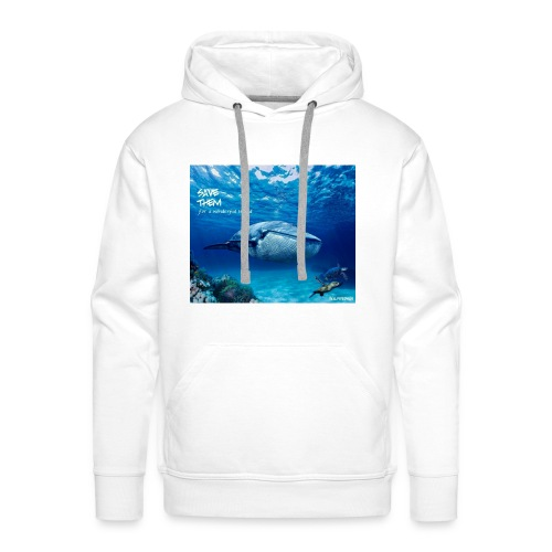 SAVE THEM fww sea - Sudadera con capucha premium para hombre