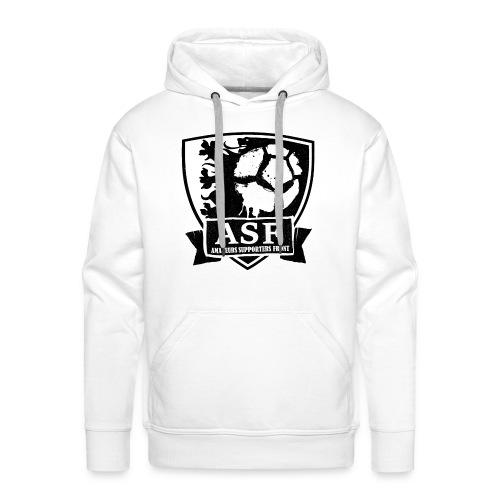 ASF logo witte achtergrond - Mannen Premium hoodie