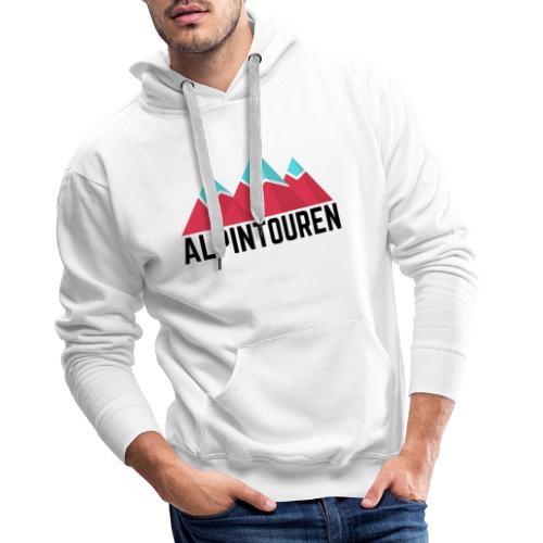 Alpintouren - Männer Premium Hoodie