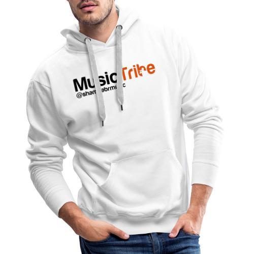 music tribe logo - Men's Premium Hoodie