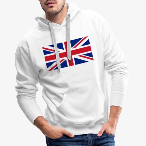 FLAG OF U.K. - Felpa con cappuccio premium da uomo