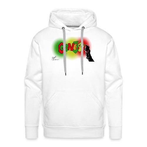 Ganja - Herre Premium hættetrøje