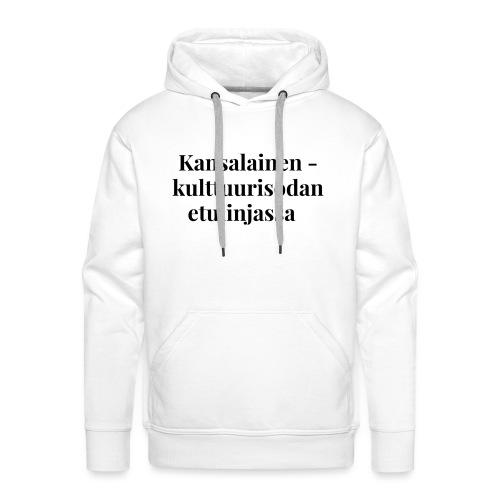 Kansalainen - kulttuurisodan etulinjassa - Miesten premium-huppari