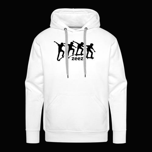 zeez skate - Sweat-shirt à capuche Premium pour hommes