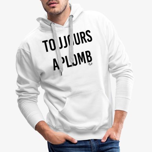 toujours aplomb - Felpa con cappuccio premium da uomo
