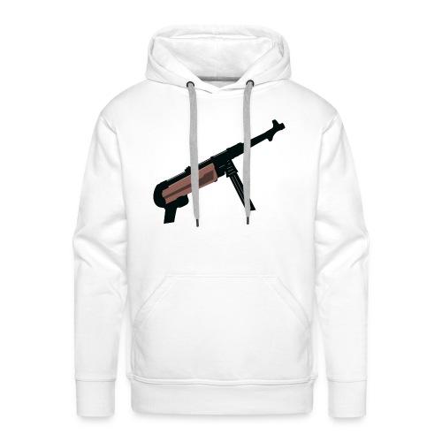 Mp40 german gun maschinenpistole 40 - Men's Premium Hoodie