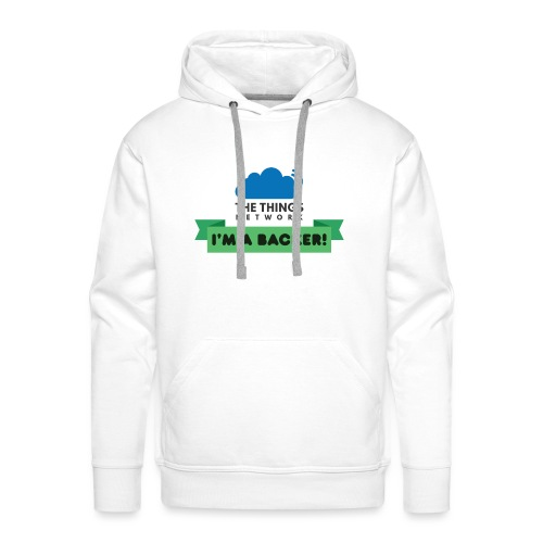 The Things Network Backers - Mannen Premium hoodie