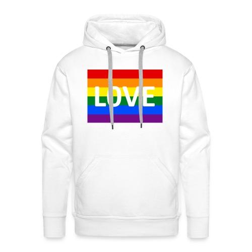 LOVE SHIRT - Herre Premium hættetrøje