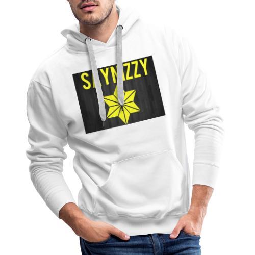 Say nizzy - Men's Premium Hoodie