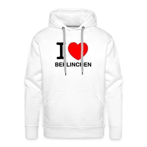 I love Berlinchen - Männer Premium Hoodie