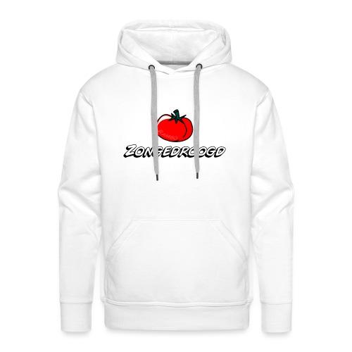 ZONGEDROOGD - Mannen Premium hoodie